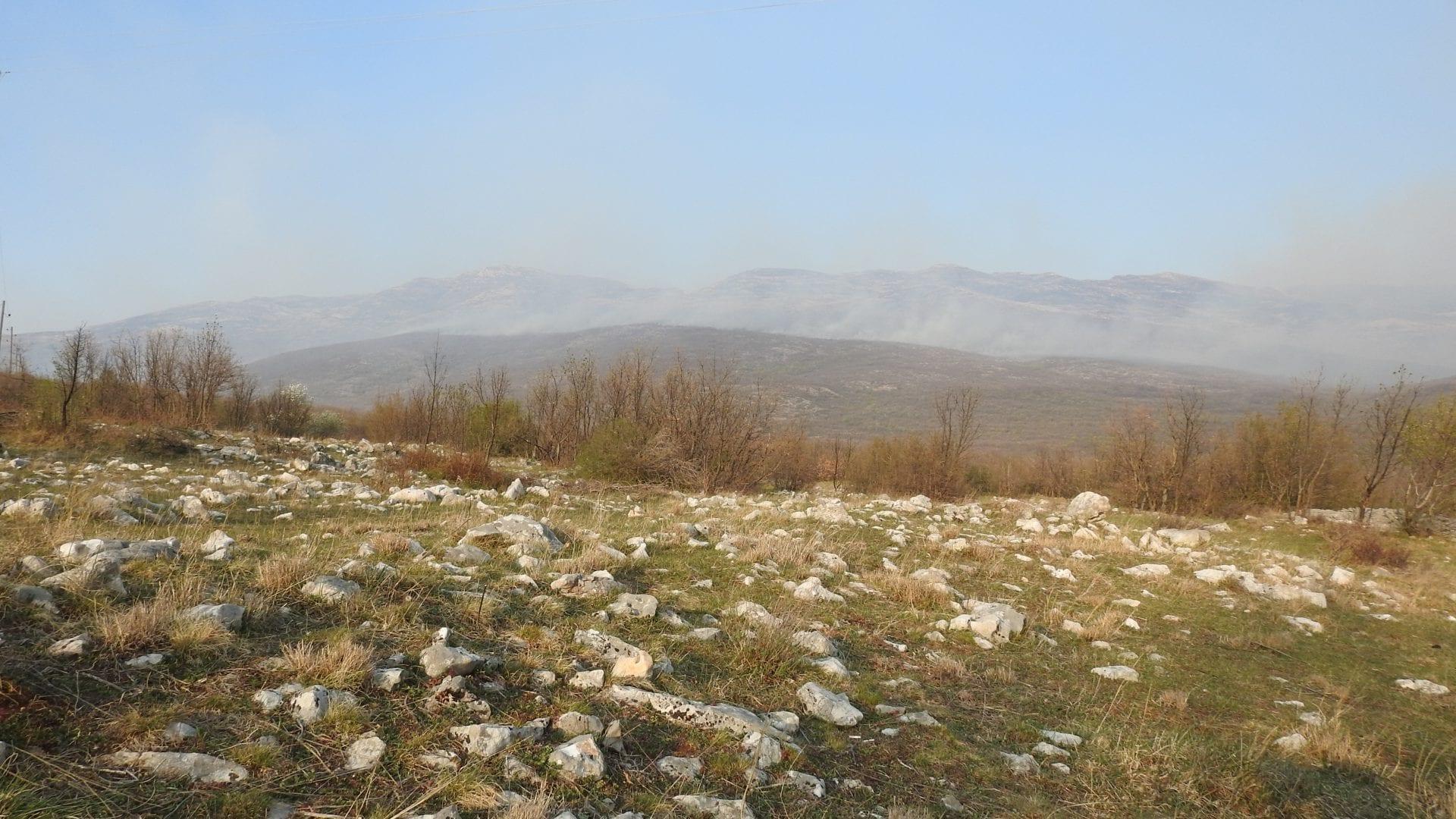Požar na Dinari od Glavaša